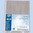 Sheet protectors A4 20pcs 0.025mm CENTRUM PP