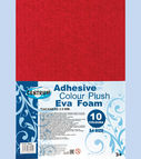 Decoration paper EVA FOAM adhesive 10col. A4 (thickness 2.00mm)