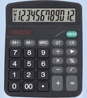 Calculator 150x120x48mm