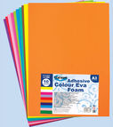 Adhesive colour EVA FOAM 10col. A3 (thickness 2.00mm)