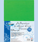Adhesive colour EVA FOAM 10col. A4 (thickness 2.00mm)