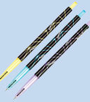 Automatic ball pen FLY oil based ink blue 0.6mm