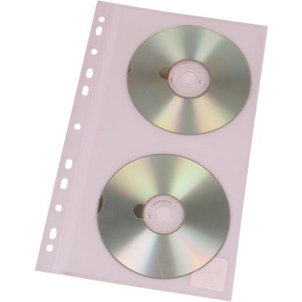 Kabatas CD/DVD diskiem ar perforāciju 10 gb.